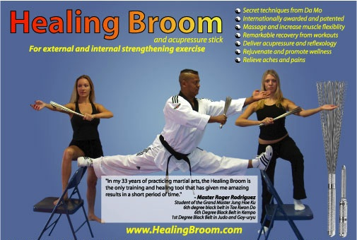 Healing Broom Ad